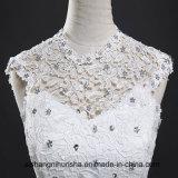 Brücke-Handapplique-elegantes Hochzeits-Kleid-Abschlussball-Kleid
