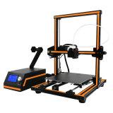 Machine de bureau d'imprimante de Fdm 3D de grand de construction d'Anet E12 prototype rapide de taille