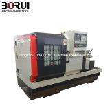 Macchina del tornio di CNC dell'asse di rotazione 60mm del tornio Ck6150 del ghisa di CNC grande grande