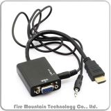 Male Hv01 HDMI to VGA Female To adapt for PC Tablets MacBook