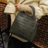 Grãos de crocodilo Vintage 2018 Mulheres bag bolsa em pele de vaca para senhora
