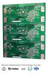 PWB Fr4 da placa de circuito impresso do ouro da imersão frente e verso