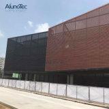 Panneau en aluminium de façade de revêtement externe de mur