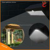 Открытый лампы солнечной энергии солнечного датчика движения светодиодный индикатор в саду на стене