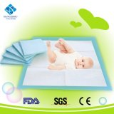 FDA Ce bébé couche jetable absorbant le changement des draps Pad