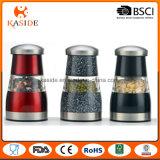 Laminatoio manuale del sale e di pepe di figura del fungo del migliore venditore