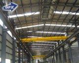 Tettoia prefabbricata del magazzino della struttura d'acciaio di disegno del lucernario largo del metallo