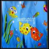 폴리에스테 능직물은 물고기 인쇄를 가진 직물 /Polyester 능직물 옥스포드 직물을 자루에 넣는다