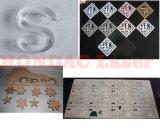 Bois MDF/carton/les acryliques de la machine de découpe au laser Gravure