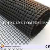 fibre de verre enduite Geogrid du bitume 30kn pour le renfort de trottoir d'asphalte