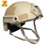 Fast Antibullet capacete colete Kevlar Nij Iiia capacete balísticos