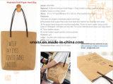 Beiläufige lederne Griff-Lebensmittelgeschäfttote-Schulter-Handtaschen mit Spitzenreißverschluß