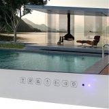 """Resistente al agua de 19"""" TV para Android el cuarto de baño Televisión LED de color blanco"""