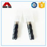 Hochwertige HRC45 4f EckRaduis Ausschnitt-Hilfsmittel China-für Metall