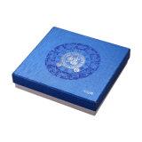 고품질 나무로 되는 우단 기념 선물 포장 동전 상자