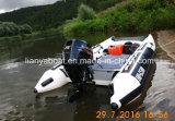 Liya schnelles laufendes China aufblasbares Hypalon Hochgeschwindigkeitsboot (KS335)