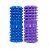 JUFIT 33x13cm de mousse EVA en forme de croissant de la colonne de massage Yoga Pilates rouleau de conditionnement physique