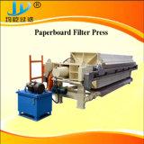 Petite Usine de traitement des eaux usées de l'argile Filtre presse