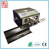 Macchina elettronica automatica calda di taglio e di spogliatura del collegare di velocità Dg-220s in pieno