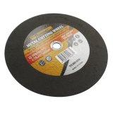 type plat de 350*3*25.4mm roue de découpage de disque de coupure pour le métal