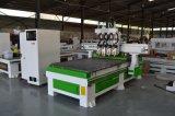 macchinario dell'incisione di taglio di falegnameria di CNC di legno di metallo 3D
