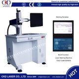 машина отметки маркировки лазера бирки уха скотин 30W пластичная