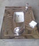 Toalete de aço claro pré-fabricado do móbil da casa da casa de campo do luxo estrutural de aço modular