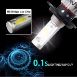 도매 Super Bright 9000lm Fanless H7 9005 9006 9012 H8 Car Bulb H4 Auto LED Headlight Kit
