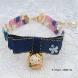 Нейлоновые втулки аксессуары Bowtie джинсы собак собак колокола ожерелья