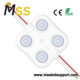 Piscina 4LED SMD 2835 12V Módulo LED de Injeção de PCB para assinar