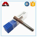HRC55 4 flautas Square ferramentas de corte CNC com revestimento Bronzed-Colored