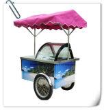 A Argélia Sorvete empurrar carrinhos móveis/Carrinhos de sorvete
