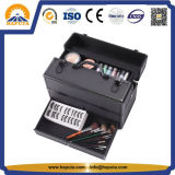 Aluminum Carryng Makeup Train Puts with Drawer (HB-6330)