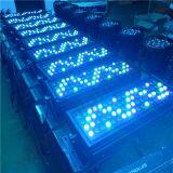 72HP 3W RGBW LED de exterior a arruela de parede de alta potência