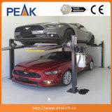Qualidade comercial de Equipamentos de oficina 4 pós-Carro Elevador Estacionamento (408-P)