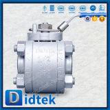 Высокое давление Didtek Lf2 шаровой клапан из нержавеющей стали