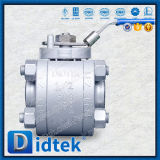 Didtek de acero inoxidable de alta presión válvula de bola de LF2