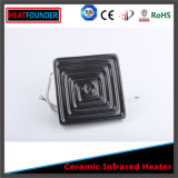 Plaque en céramique colorée de chaufferette de conformité de la CE