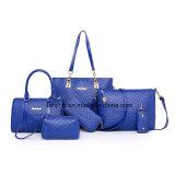 Nuovo progettista 2017 una borsa stabilita dei 6 della parte dell'unità di elaborazione del sacchetto di cuoio delle donne sacchetti delle signore
