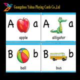 Cartões Flash educacional Vocabulário em inglês cartões de aprendizagem para crianças