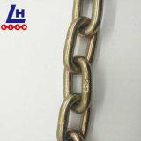 L'alta qualità 10mm ha colorato la catena di sollevamento placcata zinco