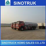 camion di autocisterna del combustibile di 25000liter Sinotruk HOWO per l'Africa
