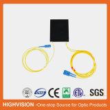 1X2 de aBS-Doos van de vezel Optische PLC Splitser