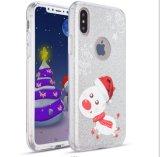 Geval van PC van de Telefoon van Kerstmis het Mobiele voor iPhone 8 plus
