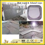 Bianco/nero/grigio/grigio/cristallo/contro/Tabella/Worktop/banco/cucina/stanza da bagno/Worktop/parte superiore di pietra di marmo del granito/quarzo/di vanità per la decorazione dell'hotel