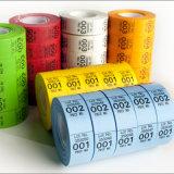 Etiqueta engomada barata al por mayor de la ropa de la impresión