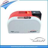 Impressora do cartão de Seaory T12 para o cartão da impressão dos lados do dobro da foto do código de barras