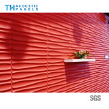 El panel de pared acústico decorativo 3D de la fibra de poliester de China/el panel de techo