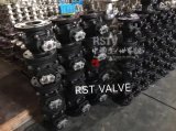 Fundición de Acero Inoxidable bola flotante 2PC Válvula de bola de brida