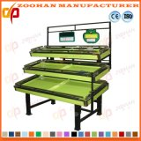 Retail Blind Supermaket Fruit and Vegetable Shelving Display Rack (Zhv32)